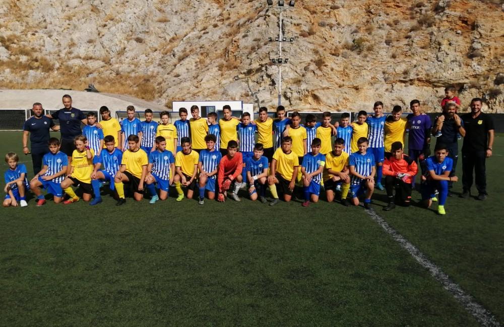 Φωτορεπορτάζ από τους αγώνες των ομάδων Κ12 και Κ13 στην Αθήνα