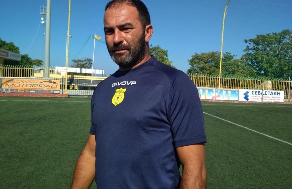 Αντ. Φραγκάκης: «Στόχος η συνεχής βελτίωση των ποδοσφαιριστών μας»
