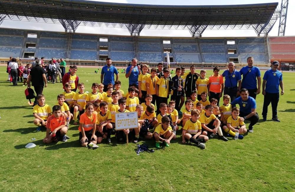 Οι αγώνες της Ακαδημίας του Γ.Σ. ΕΡΓΟΤΕΛΗΣ στο παιδικό πρωτάθλημα