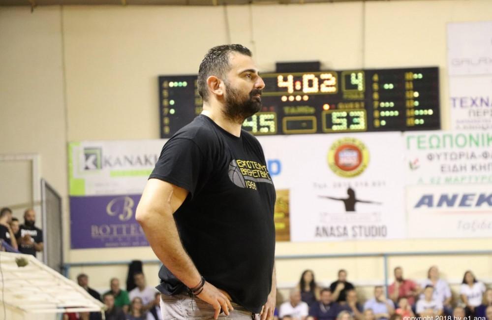 Ο Γιάννης Βισκαδουράκης και την νέα χρονιά στο τιμόνι της ανδρικής ομάδας μπάσκετ του Γ.Σ. Εργοτέλης