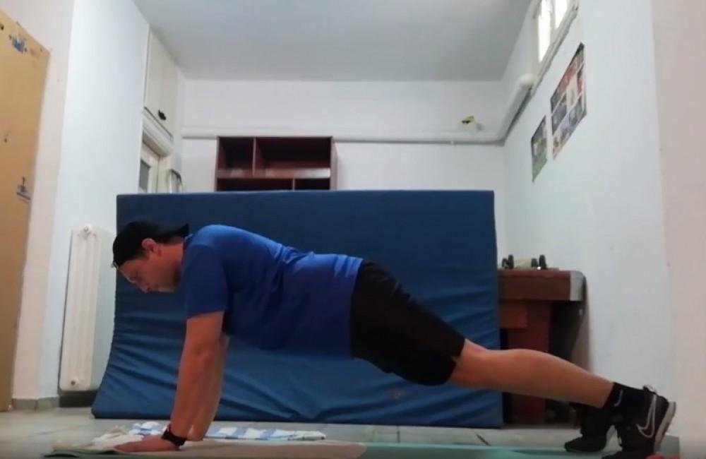 Μένουμε σπίτι και… γυμναζόμαστε! (Videos)