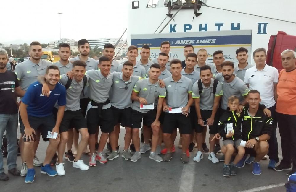 Με πίστη και αισιοδοξία για την κατάκτηση του πρωταθλήματος Ελλάδος!