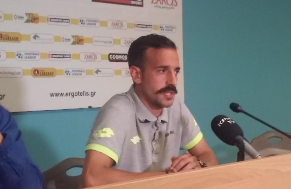 Νικολακάκης: «Θέλουμε να γινόμαστε όλο και καλύτεροι»