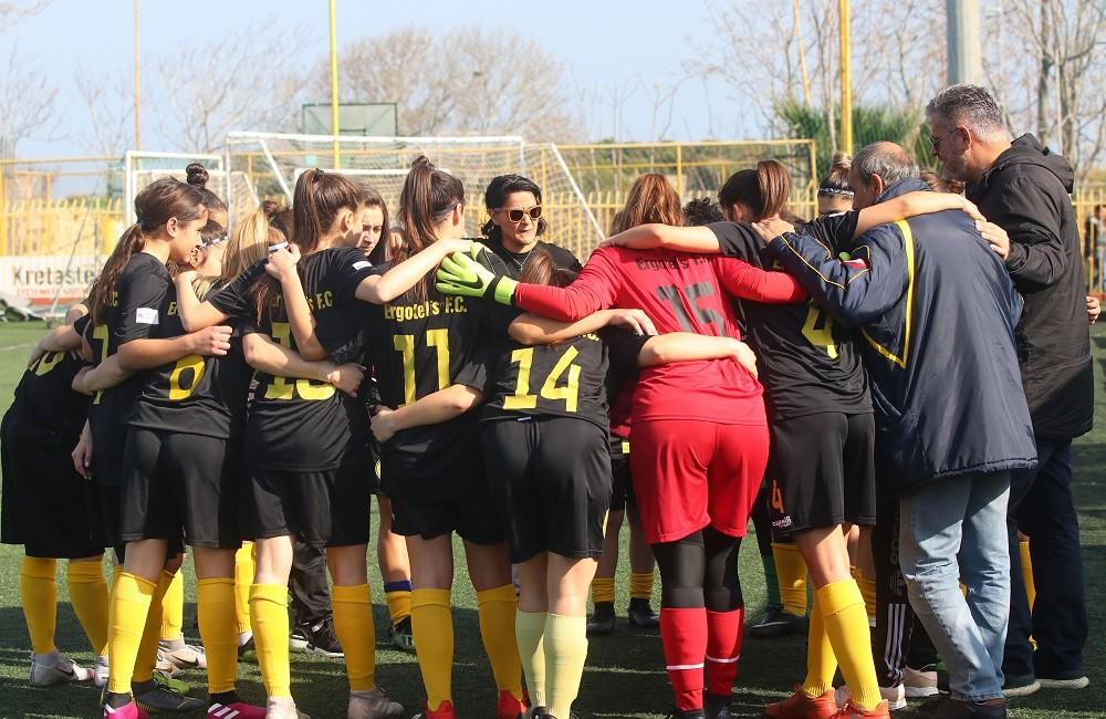 Δώδεκα παίκτριες στην προεπιλογή των Εθνικών Ομάδων Γυναικών