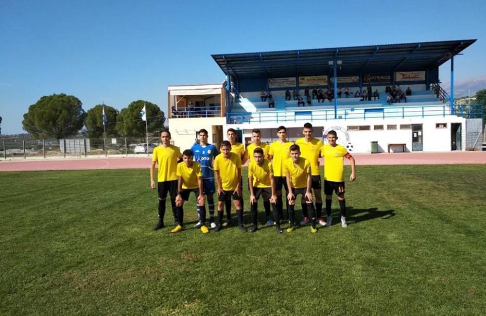 Νέοι Μοιρών - Μαρτινέγκο 1-0