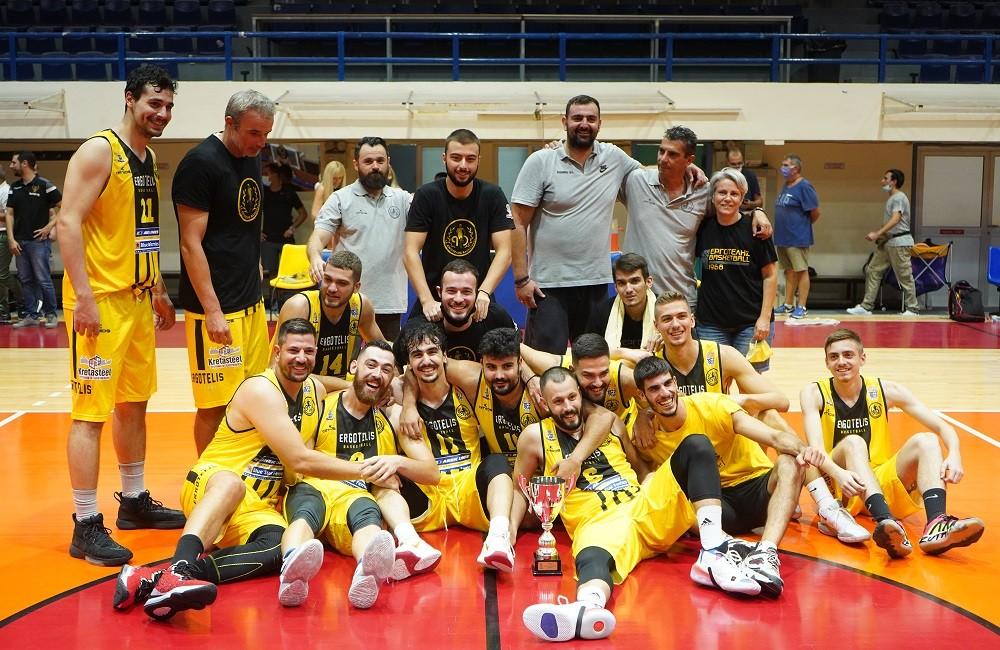 Κυπελλούχος Κρήτης στο Μπάσκετ ο ΕΡΓΟΤΕΛΗΣ
