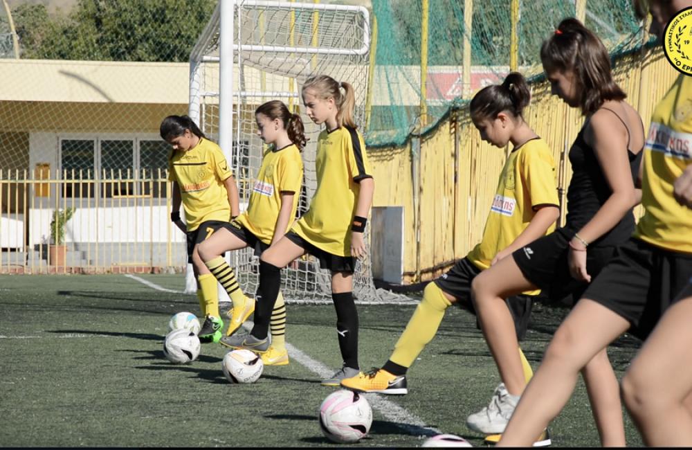 Έδειξαν τα «μυστικά» του ποδοσφαίρου οι Γυναίκες ΕΡΓΟΤΕΛΗ (Video)