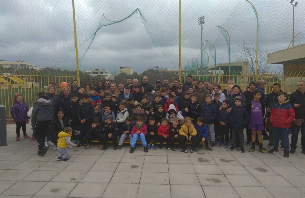 Στο Μαρτινέγκο η Ακαδημία ποδοσφαίρου Αγ. Μαρίνας (Φωτογραφίες)